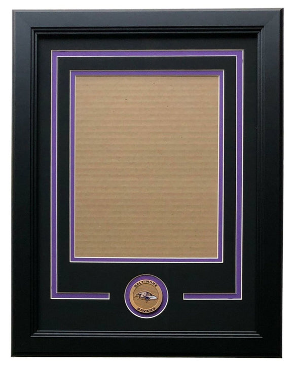 Baltimore Ravens 8x10 Vertical Photo Frame Kit - Sports Integrity