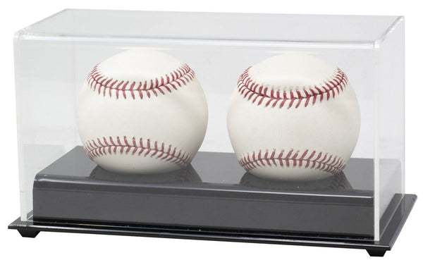 BCW Acrylic Double Baseball Display Case - Sports Integrity