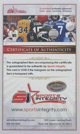 Bert Jones Baltimore Colts Signed Index Card SI - Sports Integrity