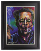 Bill Lopa Signed Framed Jack Nicholson 18x24 Giclee - Sports Integrity