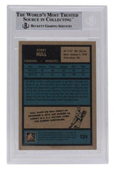 Bobby Hull Hawks Signed 2009-10 The Year in Hockey 1972 #124 Card BAS - Sports Integrity