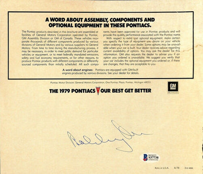 Bobby Orr Signed Boston Bruins Magazine Page BAS - Sports Integrity