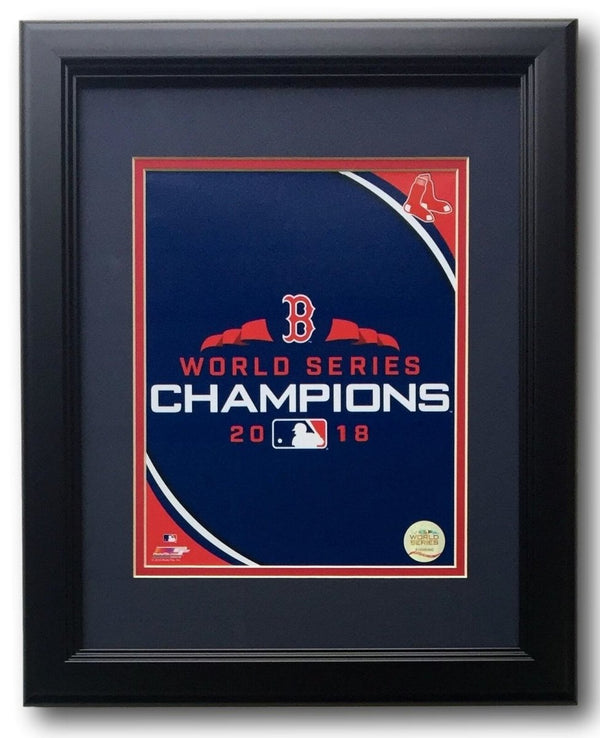 Boston Red Sox Framed 2018 World Series Champions 8x10 Photo - Sports Integrity