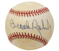 Brooks Robinson Signed Baltimore Orioles American League Baseball X42548 - Sports Integrity