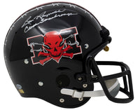 Burt Reynolds Signed Mean Machine Full Size TK Suspension Helmet Insc. Coach BAS - Sports Integrity