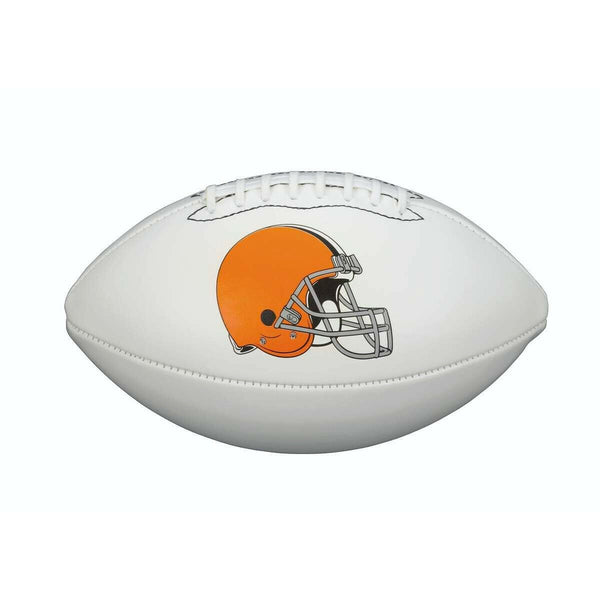 Cleveland Browns Unsigned Logo Football - Sports Integrity