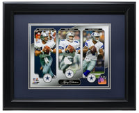 Cowboys Legacy Collection Framed 8x10 Photo Staubach+Aikman+Prescott - Sports Integrity