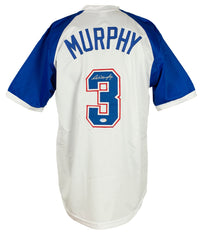 Dale Murphy Signed White & Blue Custom Pro Style Baseball Jersey PSA/DNA ITP