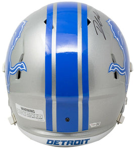 D'Andre Swift Signed Detroit Lions Full Size Speed Rep Helmet Fanatics - Sports Integrity