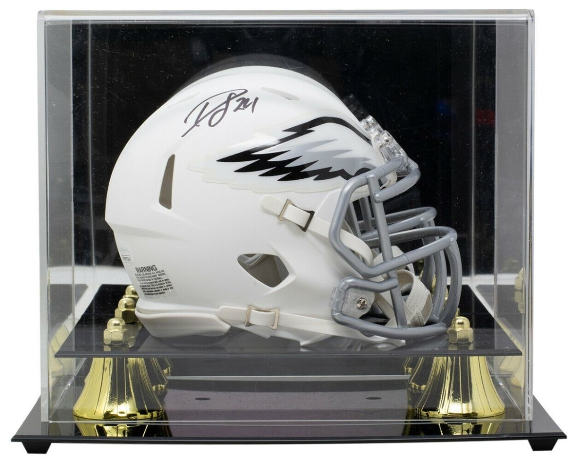 Darius Slay Signed Eagles White Mini Speed Replica Helmet w/Case JSA - Sports Integrity