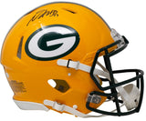 Davante Adams Signed Green Bay Packers Full Size Speed Authentic Helmet JSA ITP - Sports Integrity