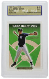 Derek Jeter 1993 Topps 98 Gold New York Yankees Card USASportCard MT 9 - Sports Integrity