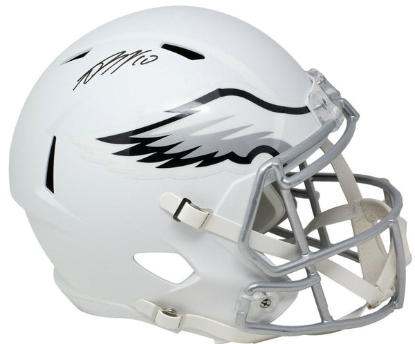 DeSean Jackson Signed Full Size Matte White Speed Replica Helmet JSA - Sports Integrity
