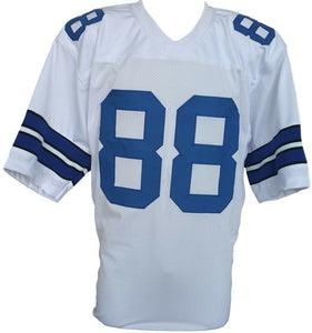Dez Bryant Unsigned Custom White Pro-Style Football Jersey Large - Sports Integrity