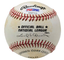 Dick Vitale Signed Official Auth NL Rawlings Baseball PSA/DNA T58710 - Sports Integrity