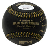 Doc Gooden Signed Black Leather MLB Baseball Insc Thank the Lord JSA - Sports Integrity