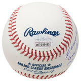 Doc Gooden Signed NY Official MLB Baseball Insc Thank the Lord JSA ITP - Sports Integrity