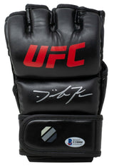 Dominick Reyes Signed Black Full Size UFC MMA Glove BAS - Sports Integrity