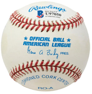 Doug Drabek Signed Pittsburgh Pirates American League Baseball BAS - Sports Integrity
