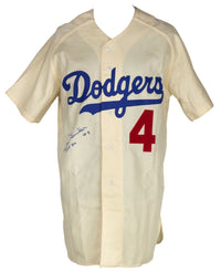 Duke Snider Signed Mitchell&Ness Cooperstown Collection Jersey HOF BAS - Sports Integrity