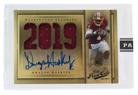 Dwayne Haskins Washington Signed 2019 Panini Prime Cut 8:10 LE Rookie - Sports Integrity
