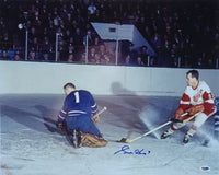 Gordie Howe Signed Detroit Red Wings 16x20 Action Photo PSA - Sports Integrity
