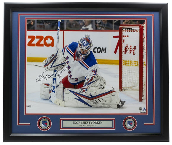 Igor Shestyorkin Signed Framed 16x20 New York Rangers Photo Fanatics - Sports Integrity