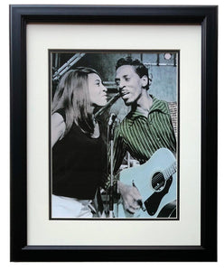Ike and Tina Turner Framed 1960's On Stage 12x17 High Quality Photo - Sports Integrity