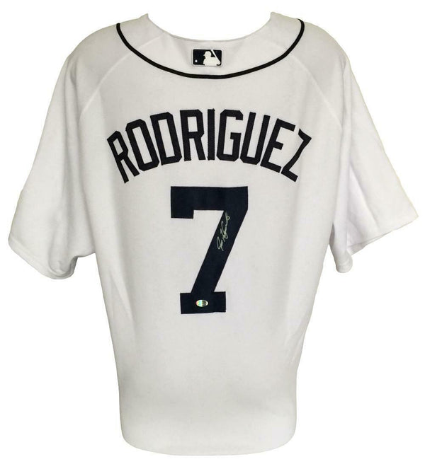 Ivan Rodriguez Signed Detroit Tigers Authentic Majestic Baseball Jersey SI COA - Sports Integrity
