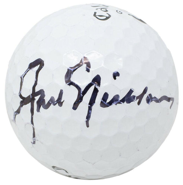 Jack Nicklaus Signed White Callaway Golf Ball Fanatics - Sports Integrity
