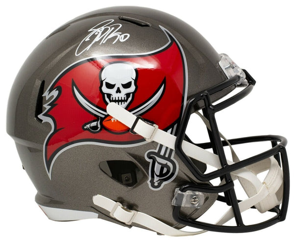 Jason Pierre Paul Signed Full Size Buccaneers Speed Replica Helmet JSA ITP - Sports Integrity