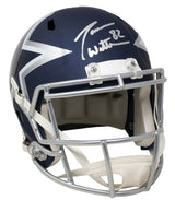 Jason Witten Signed Full Size Speed Replica Amp Helmet w/Case BAS ITP - Sports Integrity