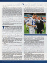 Jim Isray Indianapolis Colts Signed Sports Illustrated Page BAS - Sports Integrity