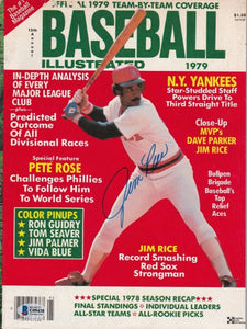 Jim Rice Signed Boston 1979 Baseball Illustrated Magazine BAS - Sports Integrity