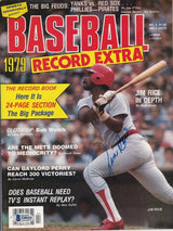 Jim Rice Signed Boston Baseball 1979 Record Extra Magazine BAS - Sports Integrity