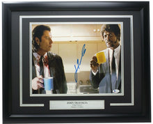 John Travolta Signed Framed Pulp Fiction 11x14 Photo BAS ITP - Sports Integrity