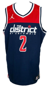 John Wall Signed Blue Wizards The District Basketball Jersey JSA ITP - Sports Integrity