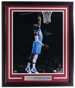 John Wall Signed Houston Rockets 16x20 Basketball Photo BAS ITP - Sports Integrity
