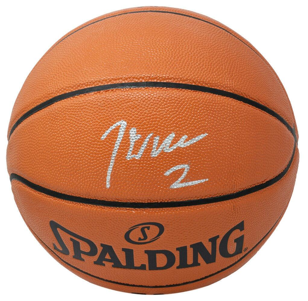 John Wall Signed Houston Rockets Spalding I/O Basketball JSA ITP - Sports Integrity