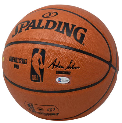 John Wall Signed Houston Rockets Spalding Replica Basketball BAS ITP - Sports Integrity