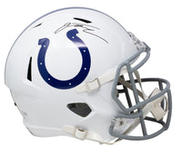 Jonathan Taylor Signed FullSize Indianapolis Colts Speed Replica Helmet Fanatics - Sports Integrity