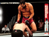 Jorge Masvidal Signed 11x14 UFC Photo vs. Nate Diaz JSA ITP - Sports Integrity