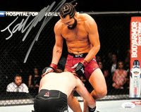 Jorge Masvidal Signed 8x10 UFC Fight Photo JSA ITP - Sports Integrity