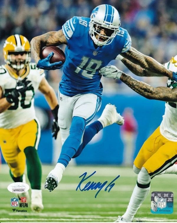 Kenny Golladay Signed Detroit Lions 8x10 Football Photo JSA ITP - Sports Integrity