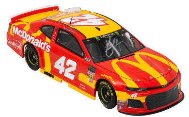 Kyle Larson Signed Nascar Replica McDonald's Diecast Car BAS - Sports Integrity
