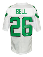 Le'Veon Bell Signed Custom White Pro-Style Football Jersey PSA