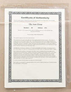 Lou Gehrig The Iron Horse Framed NewYork Yankees LE Historical Archive - Sports Integrity
