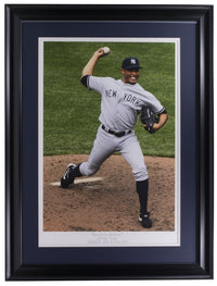 Mariano Rivera Framed 17x22 Unanimous Historical Photo Archive Giclee - Sports Integrity