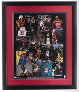 Michael Jordan Framed Chicago Bulls Through the Years 16x20 Collage Photo - Sports Integrity