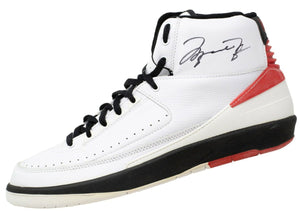 Michael Jordan Signed Bulls Pair of Air Jordan II Shoes PSA/DNA LOAs - Sports Integrity